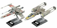 Star Wars X Wing Star Fighter & Y Wing Star Fighter 1/144 Model Kit Bandai