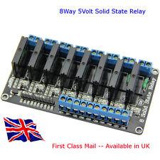 8 canales 5V Relé de estado sólido SSR-Suit-Arduino-Raspberry Pi 2 Amp-En Reino Unido