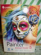 Corel Painter Essentials 5 Digital Art Suite for PC and Mac PC Mac Disc Sealed