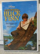 The Adventures of Huck Finn (DVD, 2002) RARE DISNEY W BUENA STAMP BRAND NEW