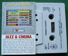 Jazz & Cinema Duke Ellington Dave Brubeck Mel Torme + Cassette Tape - TESTED