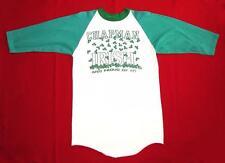 VINTAGE JERSEY T SHIRT 70's Chapman Irish CLOVER Baseball RAGLAN St Patricks Day