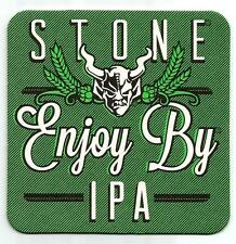 16 Stone Enjoy By IPA Brewed To Be Enjoyed Within 37 Days  Beer Coasters