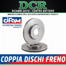 Pair Brake Discs Cifam 800-076 Citroen Fiat