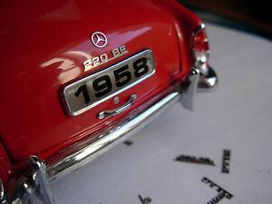 1/18 1/16 1/24 1/20 1/25 Mercedes Benz MB Trunk Bonnet Star Emblem ornament 1/32