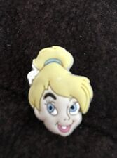 Disney Tinkerbell Head Shoe Charm Jibbitz Style Shoe Plug New
