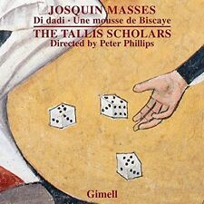 JOSQUIN: MISSA DI DADI, MISSA UNE MOUSSE DE BISCAYE NEW CD
