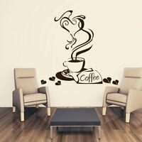 Wandtattoo Küche Kitchen Café Coffee wal030