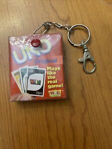 keychain travel game uno