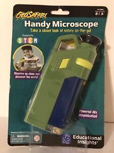 Educational Insights GeoSafari Original Nature Handy Microscope