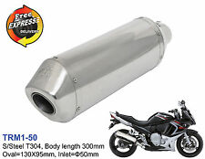 Universal motorcycle performance exhaust muffler for Scooter ATV Enduro 50mm 2""