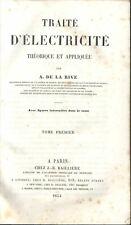More details for electricity magnetism de la rive french 1854 galvanometer leyden jar