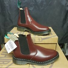 SOLOVAIR Dealer men's Boots shoes Oxblood Leather UK 6 EUR 38,5 (pv:155£)