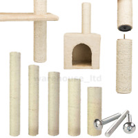 Trixie Cat Scratching Post Replacement Spare Sisal Rope Cat Tree Post Screws inc
