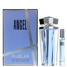 THIERRY MUGLER ANGEL REFILLABLE 100ML EDP & FREE 7.5ML SPRAY NEW SEALED GIFT SET