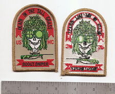"#187  USMC SCOUT SNIPER PATCH ""DEATH IN THE TALL GRASS"""