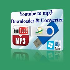 YouTube to MP3 Downloader Converter MP4 Vimeo Dailymotion Facebook HD video USB