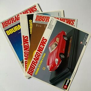 Bburago News Model Car Catalogues 1991-1993