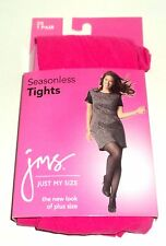 JMS Seasonless Tights FUCHSIA Size 3X The New Look Of Plus Size New Carded