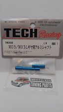 Tamiya M03 M03L M04 M05 FF02 TECH Racing TM3030 Gearbox Hollow Shaft