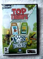 40540 - Top Trumps Adventures Dogs & Dinosaurs [NEW & SEALED] - PC (2004
