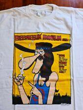 Camiseta Furry Freaks Brothers Gilbert Shelton underground comic t shirt
