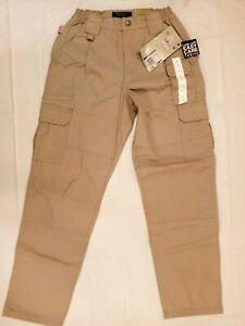 NWT 5.11 Tactical Women's Class B Stryke PDU 64355 Pants SIZE 6 W24 X 30L Khaki
