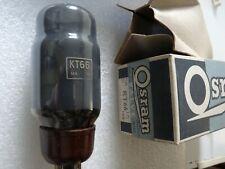 KT66 Osram GEC Grey Glass  Valve Tube New Old Stock 1pc FEB20A