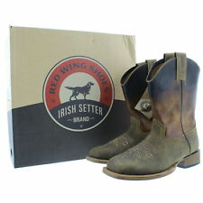 Red Wing 4825 Irish Setter Men's Deadwood Western Brown Leather Boots