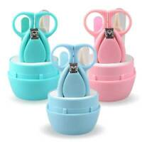 Baby Nail Clippers Safety Cutter Care Toddler Infant Scissors Manicure Set NXW