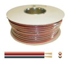 6A Automotive DC Power Cable - Twin Core Figure '8' 12V Black/Red - 100m reel