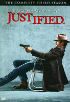 Justified: The Complete Third Season (DVD, 2012, 3-Disc Box Set) New/Sealed
