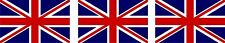 3x Mini Aufkleber Grossbritannien Union Jack UK Fahrrad Sticker Fahrradaufkleber