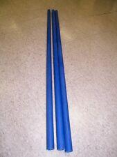 "fiberglass tube 1.01"" ID x 1.16"" OD x 48"" long paddle shaft kayak SUP canoe BLUE"