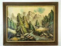 Rare Antique Original Oil on Canvas Painting by W. Berger German Painter