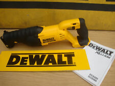 BRAND NEW DEWALT DCS380 XR 18V RECIP SAW BARE UNIT + 5 MIXED BLADES