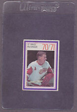1970-71 Esso Hockey Stamp Bruce MacGregor Detroit Red Wings