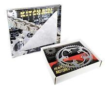 Kit chaine Complet  Renforcé 420 55*15 HONDA CR 80 Grandes Roues 1996-2002