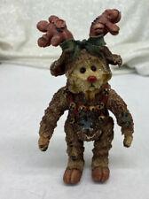 """Rudy Reinbeary� #3246 Boyds Shoe Box Bear Jointed Figurine"