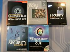Microsoft Security Manuals: Windows Security, SQL Server 2000~ - VGC