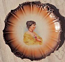 ANTIQUE PRE-1904  EAST PALESTINE POTTERY CO. DECORATIVE PORCELAIN PORTRAIT PLATE