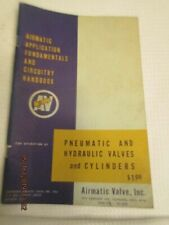 1964 Vintage Book Airmatic Handbook Pneumatic Hydraulic Valves Cylinders product