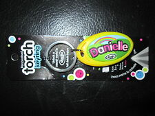 DPALS PERSONALISED KEYRING TORCH DANIELLE VIRTUAL TORCH INCLUDED BNIP