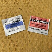 BRITISH ARMY SURPLUS CYALUME® GLOW STICK,NIGHT FISHING AID,FLOAT,ROD TIP,BOBBIN