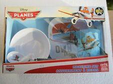 🎄 Disney Planes Mealtime Set By Zak Tray Bowl Spoon Tumbler Brand New