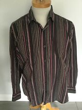 Ben Sherman Mens Striped Long Sleeve Shirt Size 4 / XL. Great Condition.