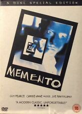 Memento DVD (2004) 3DVD SET Guy Pearce Christopher Nolan