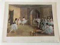 Metropolitan Seminars in Art Plate 77, Rehearsal in the Foyer of the Opera Degas