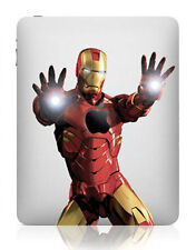 IPad Decal Autocollant Double Mains Iron Man Art pour APPLE Tablette