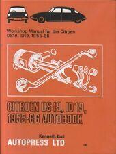 CITROEN DS19 & ID19 ( 1955 - 1966 ) OWNERS WORKSHOP MANUAL